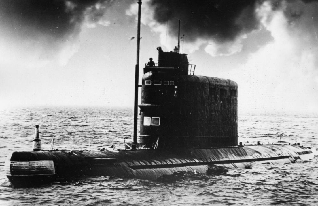 Советская подводная лодка К-129: причина гибели