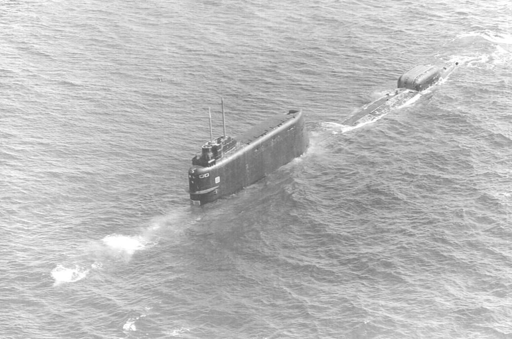 Советская лодка к-129