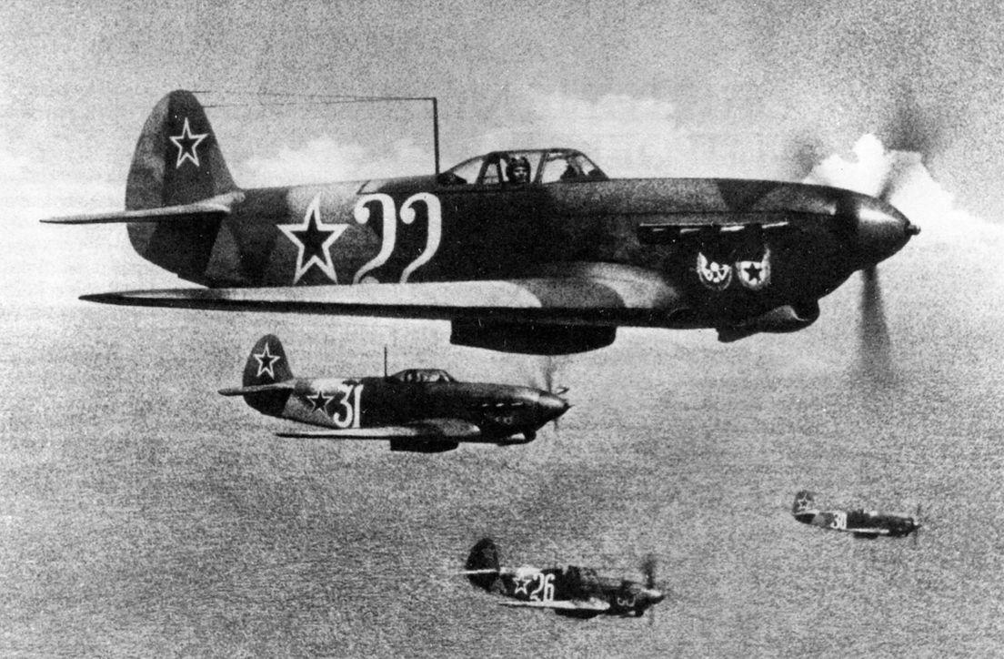 Caça soviético Yakovlev Yak-1
