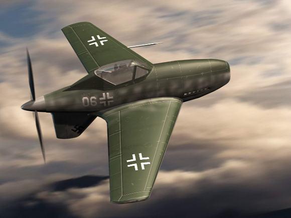 Рисунок-реконструкция Me.334