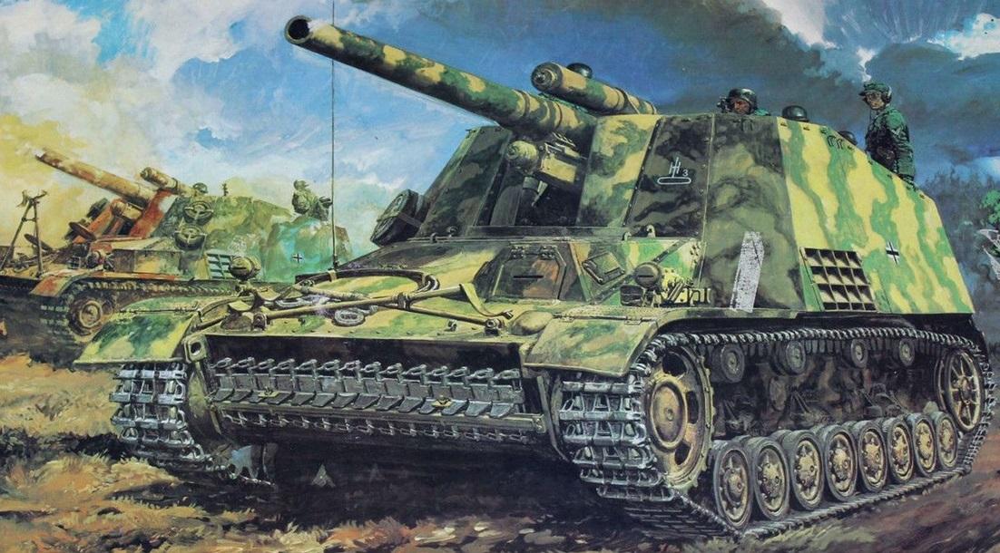 wylot sprzedaje wysoka jakość Sd.Kfz.165 15 cm Panzerhaubitze auf GW III/IV