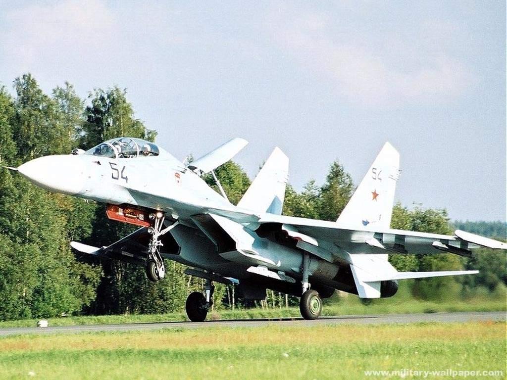 Обои многоцелевой, двухместный, Су-30м2, истребитель. Авиация foto 16