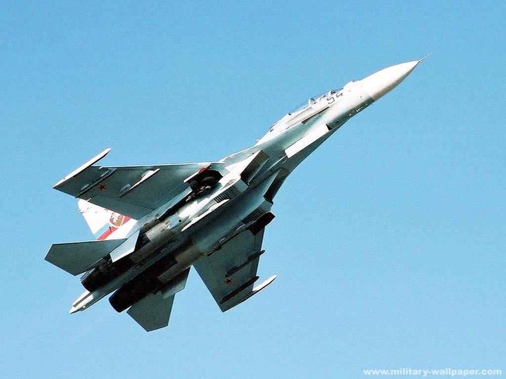 Обои многоцелевой, двухместный, Су-30м2, истребитель. Авиация foto 12