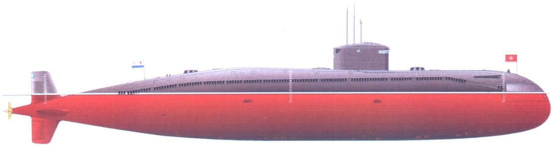 Лодка проекта 690 кефаль