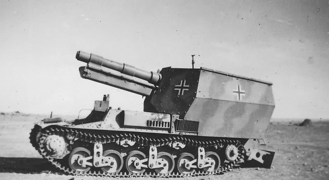 15-см sFH13/1 (Sf) auf Geschützwagen Lorraine Schlepper (f)
