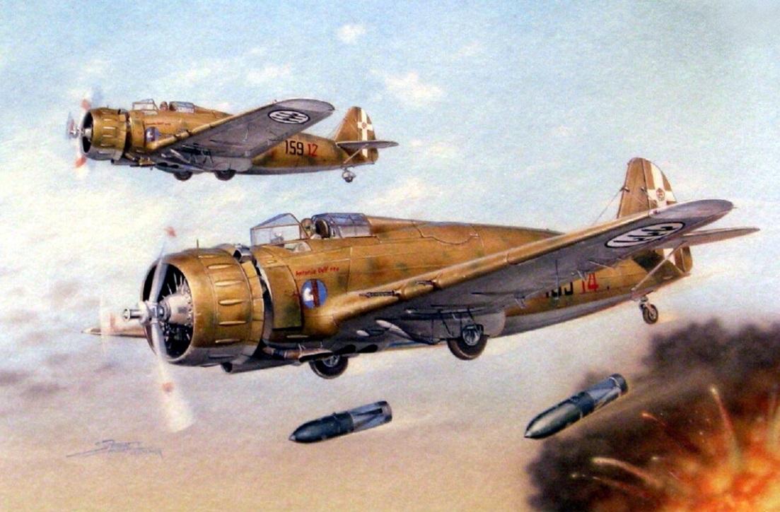 Breda Bа.65 — и истребитель и штурмовик