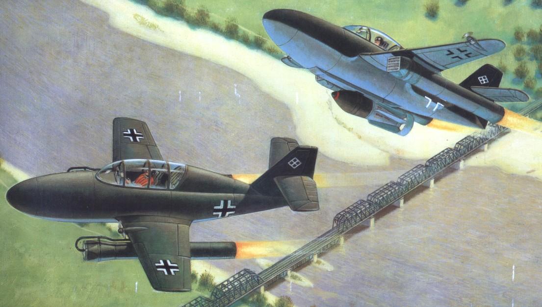"""Me.328В — из """"Бортового самолета"""" в бомбардировщик"""